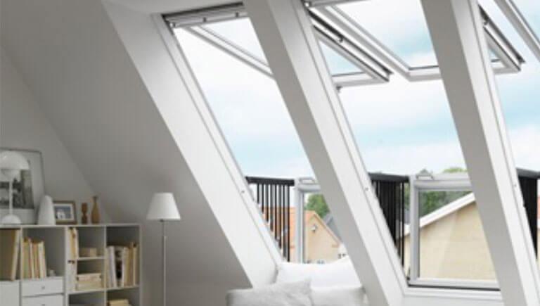 Velux Fenster-Kombinationen - Dachdeckerei Hoffmeister Rostock